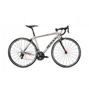 FIETS MERCKX  BLOCKHAUS 67 SILVER BLACK RED 105 M