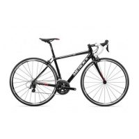 FIETS MERCKX  MONTREAL 74 BLACK SILVER RED 105 L
